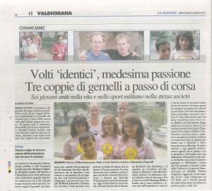 La Nazione Siena - 25 luglio 2012