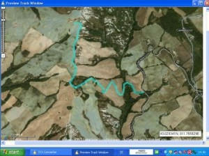 mappa cronoscalata vallerese