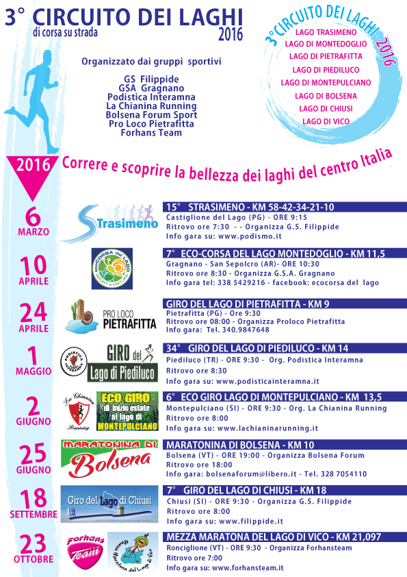 Calendario Gare Podistiche Toscana.Calendari 2019 In Aggiornamento Uisp Siena Gran Prix