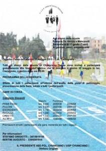 Festa atletica programma